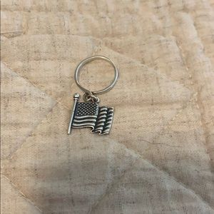 James Avery American flag charm